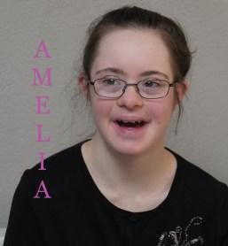 Amelia with name