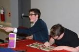Sam_Nick signing autographs
