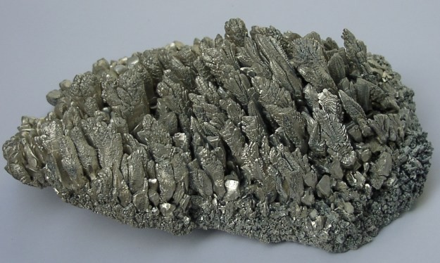Magnesium crystals - this is probably not the best kind of magnesium for you. :) Picture by Warut Roonguthui in wikimedia commons.
