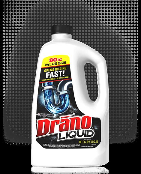 drano liquid drain cleaner drano