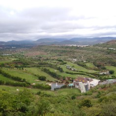 View from the top of the hill