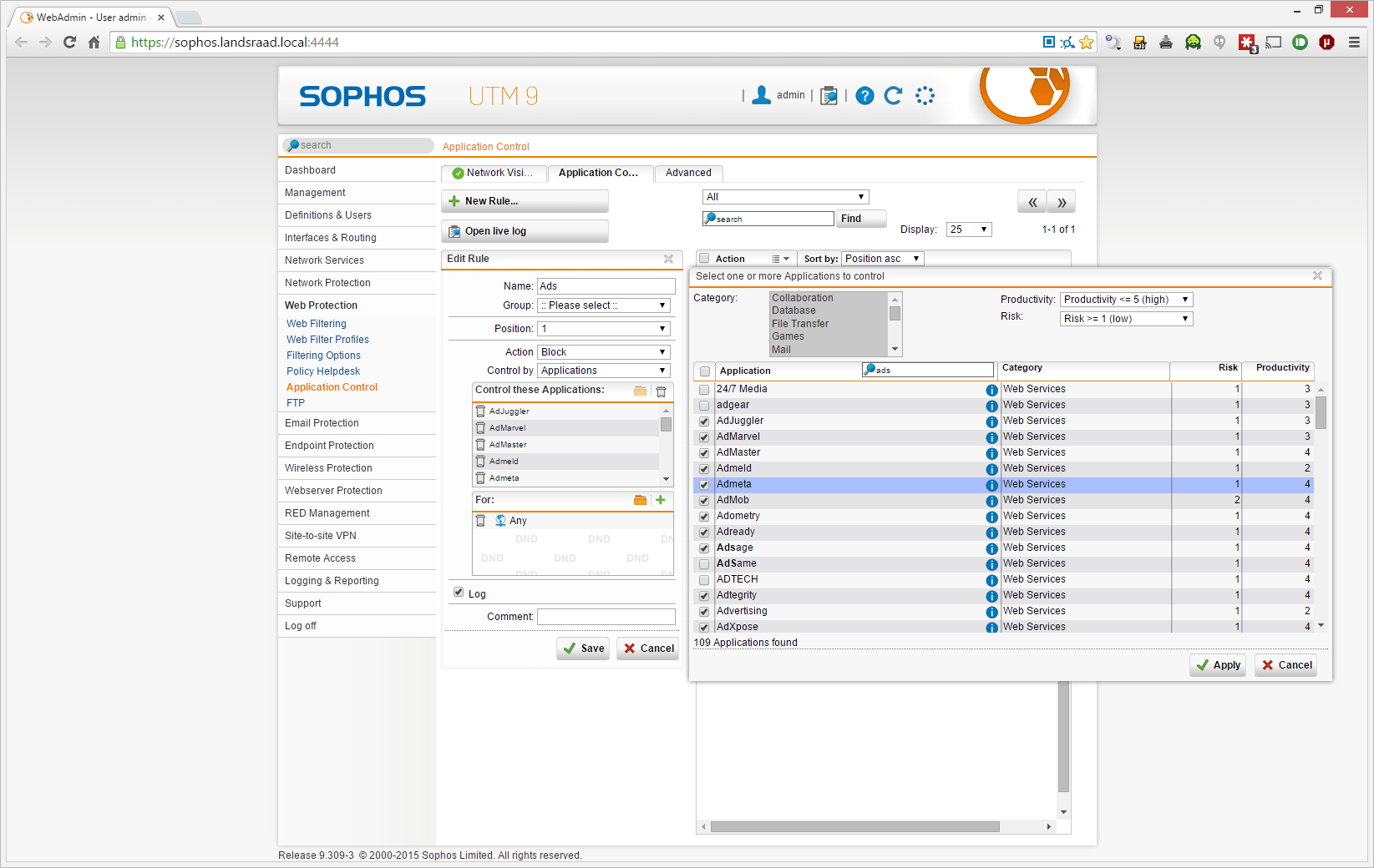 An Exercise in Frustration: Fine Tuning the Web Filter in Sophos UTM