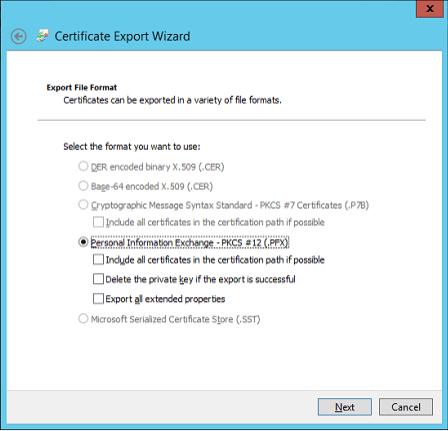 InetMgr-CertificateExportpfx
