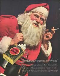 papai noel cigarro