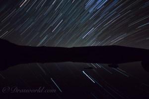 比較明撮影で星の軌跡をタイムラプスで表現する方法