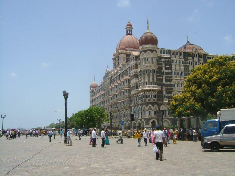 インド・ムンバイの様子