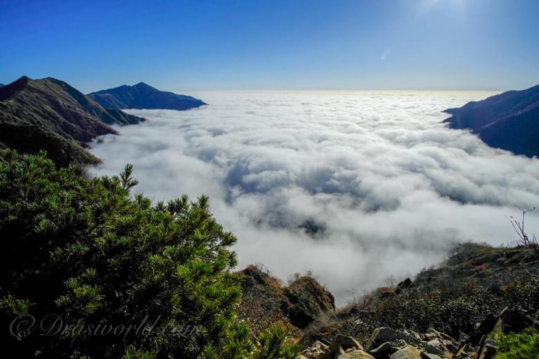12mm(換算18mm)で撮影した山岳写真