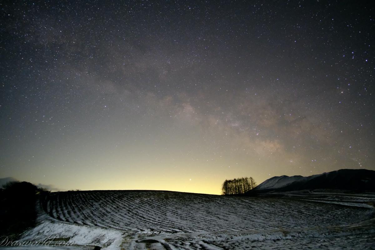 嬬恋で天の川を撮影してきました(FUJIFLM X-T3)