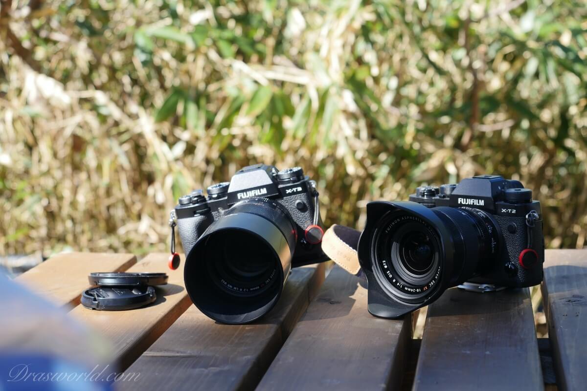 一度は手放した登山中のカメラ2台同時運用スタイルにカムバックしてきたよ