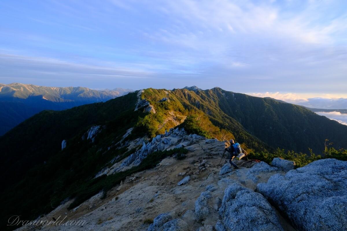 山旅 Vol.7 山歴16年目にして初めて繋いだ表銀座コース(逆走で縦走)