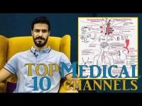 أجمد 10 مواقع لدراسة الطب Top 10 Medical channels
