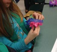 building a flower