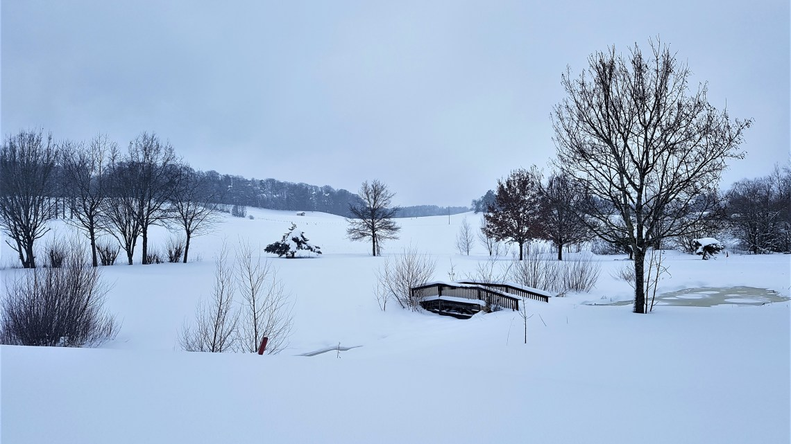 So richtig Winter …