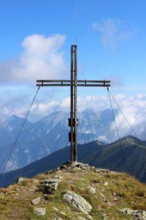 Gipfelkreuz am Stubaier Höhenweg