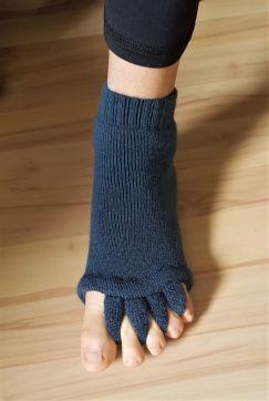 Zehenspreizen mit Happy Socks
