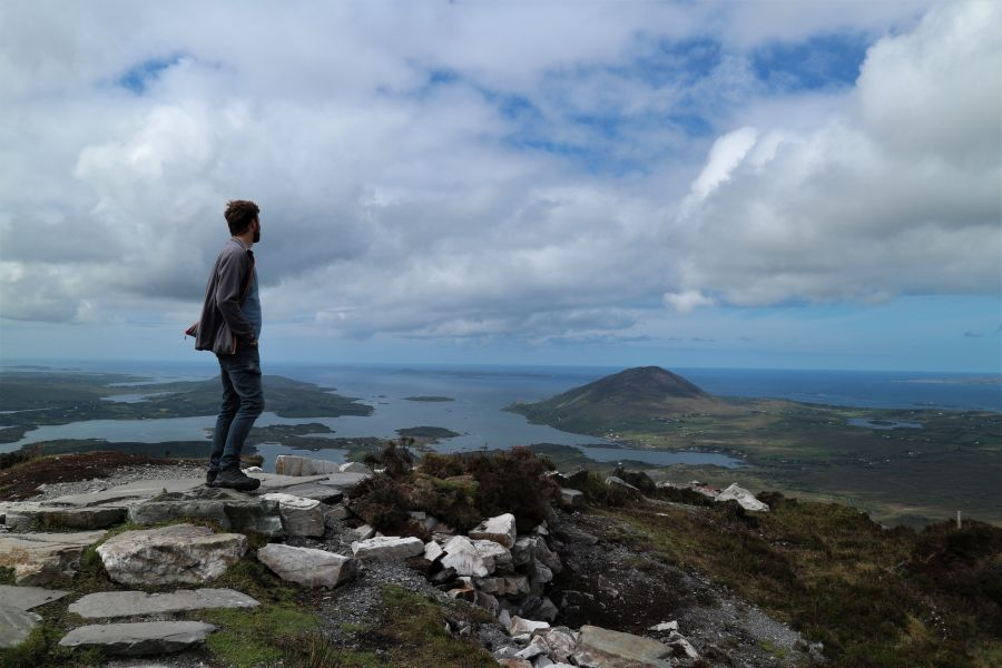 Der Diamond Hill – ein Klassiker in Connemara, Irland