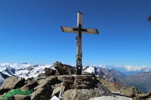 Gipfelkreuz des Monte Cevedale