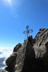Am Gipfel der Zufallspitze
