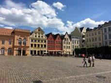 Am Markt in Schwerin