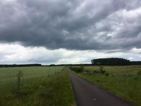 Radweg nach Federow