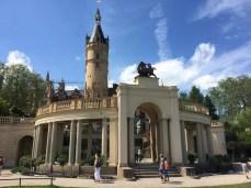 Rückseite des Schweriner Schlosses