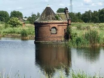 Schieberhäuschen in der Wasserkunst Kaltehofe