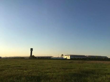 Airbus Werksgelände in Finkenwerder