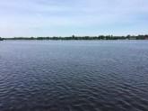 Blick auf den Nieder Neuendorfer See (die Havel) in Berlin