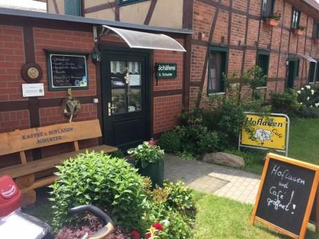 Das Café im Hofladen in Beuster