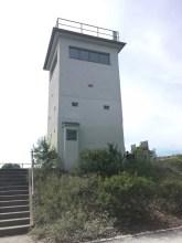Der alte Wachturm am Berliner Mauerweg