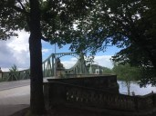 Die Glienicker Brücke bei Potsdam