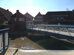 Drehbrücke in Estebrügge