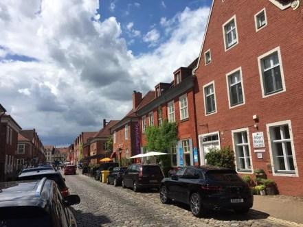 Im Holländischen Viertel in Potsdam