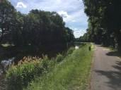 Radweg am Voßkanal bei Zehdenick