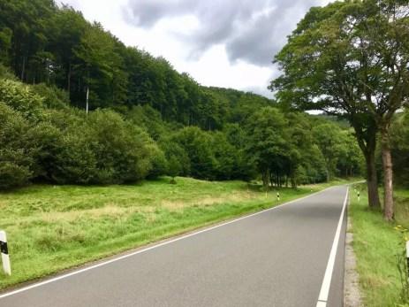 Straße bei Bad Lauterberg