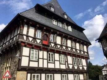 Fachwerkhaus in der Altstadt von Goslar