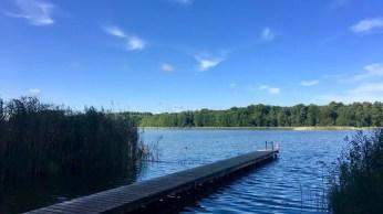 Steg von Paddel Paul am Leppiner See