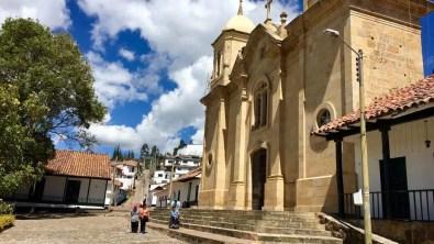 Die Kirche in Cucunubá