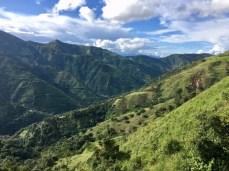 Gebirgslandschaft in Kolumbien