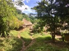 Ein indigenes Dorf der Tairona in der Sierra Nevada de Santa Marta