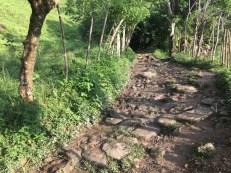 Trekking in Kolumbien - Schlammige Wege werden oft zur Herausforderung