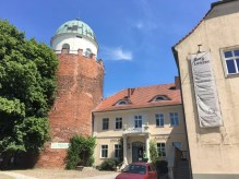 Die Burg Lenzen mit dem BUND-Informationszentrum