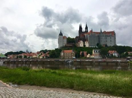 Blick auf Meißen und die prächtige Albrechtsburg (2)