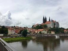 Blick auf Meißen und die prächtige Albrechtsburg