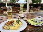 Mein zünftiges Abendmahl in Moritz an der Elbe