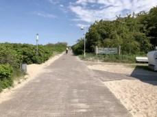 Der Ostsee-Küsten-Radweg in Graal Müritz