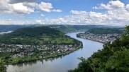 Die Rheinschleife bei Boppard im Rheinischen Schiefergebirge