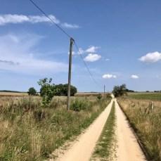 Feldweg zwischen Wangelkow und Jamitzow im Lassaner Winkel
