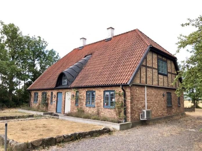 Schwedisches Bauernhaus am Skåneleden