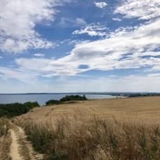 Blick über die Boltenhagener Bucht und Boltenhagen im Hintergrund